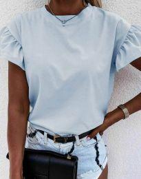 Majica - kod 4352 - svijetlo plava