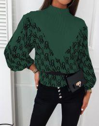 Bluza - kod 3829 - maslinasto zelena