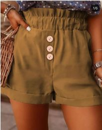 Kratke hlače - kod 9383 - smeđa
