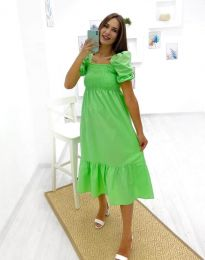 Haljina - kod 3283 - 2 - zelena
