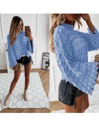 Džemper - kod 8092 - svijetlo plava