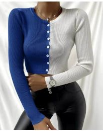 Bluza - kod 6366 - 2 - šarena