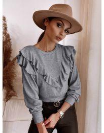 Bluza - kod 7200 - siva