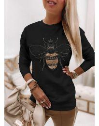 Bluza - kod 4824 - crna