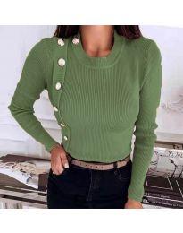 Bluza - kod 9989 maslinasto zelena
