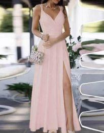 Haljina - kod 8489 - svijetlo roza