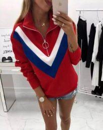 Bluza - kod 7890 - 2 - crvena