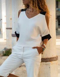 Bluza - kod 6169 - 1 - bijela