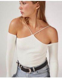 Bluza - kod 8063 - bijela