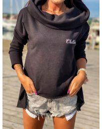 Bluza - kod 7878 - crna