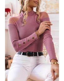 Bluza - kod 2771 - 4 - roze