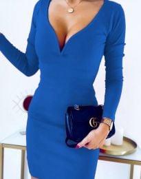 Haljina - kod 12065 - 5 - plava