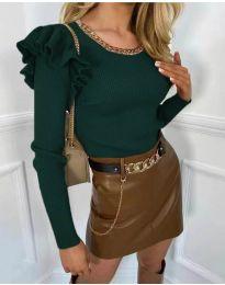 Bluza - kod 8865 - maslinasto zelena