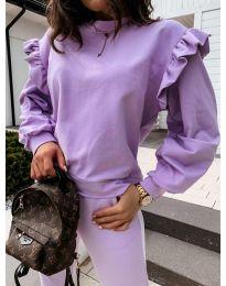 Bluza - kod 6613 - ljubičasta