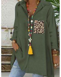 Bluza - kod 5641 - maslinasto zelena