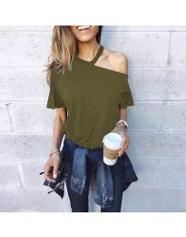 Majica - kod 3573 - maslinasto zelena