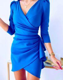 Haljina - kod 32897 - plava