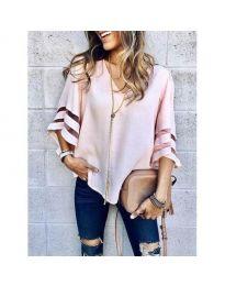 Bluza - kod 3371 - 2 - roze