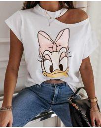 Majica - kod 1044 - bijela