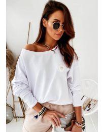Bluza - kod 4026 - bijela