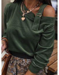 Bluza - kod 280 - maslinasto zelena