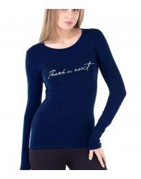Bluza - kod 3341 - 1 - tamno plava