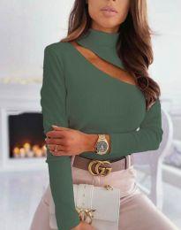 Bluza - kod 11490 - maslinasto zelena