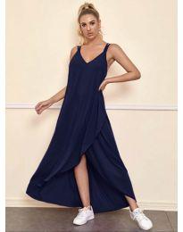 Haljina - kod 3083 - tamno plava