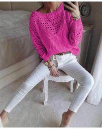 Bluza - kod 6182 - boja ciklame