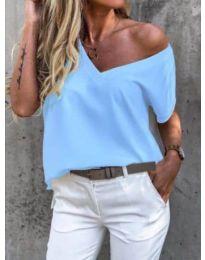Majica - kod 0589 - svijetlo plava