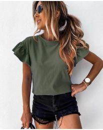 Majica - kod 520 - maslinasto zelena