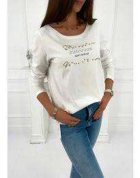 Bluza - kod 4247 - bijela