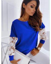 Bluza - kod 4426 - tamno plava