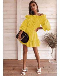 Haljina - kod 3386 - žuta