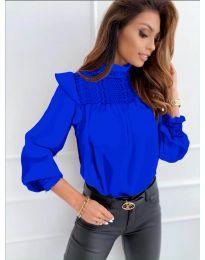 Bluza - kod 6202 - tamno plava