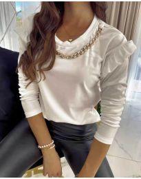Bluza - kod 6189 - bijela