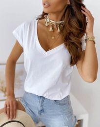 Majica - kod 2389 - bijela
