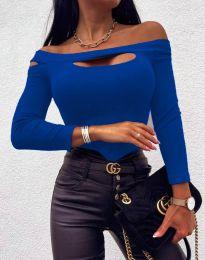 Bluza - kod 11601 - 8 - plava
