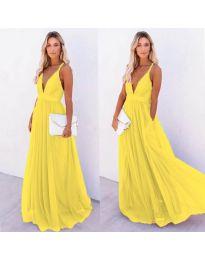 Haljina - kod 5587 - žuta