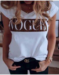 Majica - kod 2621 - bijela