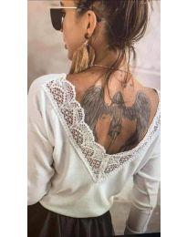 Bluza - kod 188 - bijela
