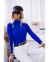 Bluza - kod 6343 - 2 - plava