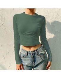 Bluza - kod 1124 - maslinasto zelena