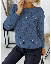Džemper - kod 392 - plava