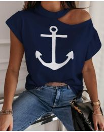 Majica - kod 206 - tamno plava