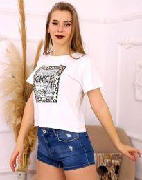 Majica - kod 2489 - bijela