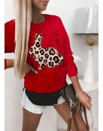 Bluza - kod 4001 - crvena