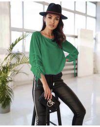 Bluza - kod 5165 - zelena