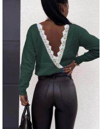 Bluza - kod 6050 - maslinasto zelena