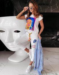 Majica - kod 11818 - bijela